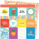 American Crafts - Picnic In The Park -  You Are My Happy 12 x 12 Paper